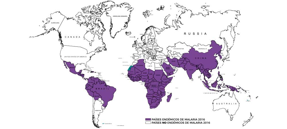Prevención de la malaria en países y zonas endémicas